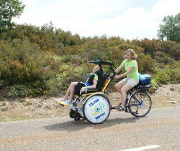 Camino en bici maria ignacio