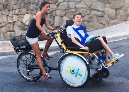 Nuestras Bicis Adaptadas están en El Escorial