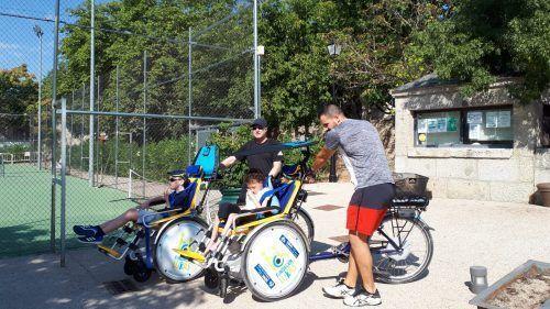 Nuestras bicis adaptadas estarán en la inauguración de la Semana Europea del Deporte en Madrid Río