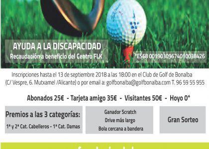 X Torneo benéfico de golf 'Fundación Lukas'