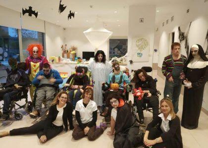 Un Halloween «de miedo» en nuestra Casa Hogar