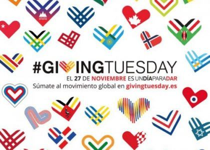 Nuevo reto Giving Tuesday 2018