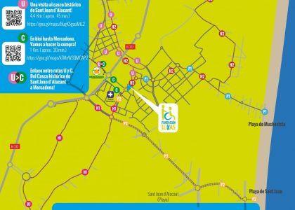Nuevas rutas en bici adaptada en Alicante