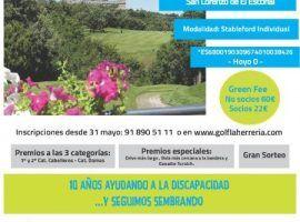XI Torneo Benéfico de golf Fundación Lukas