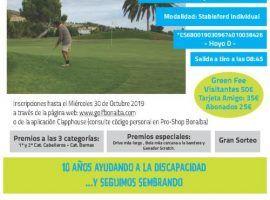 XII Torneo benéfico de golf 'Fundación Lukas'