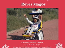 Cabalgata de Reyes en bicicleta adaptada