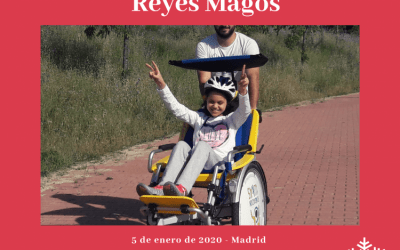 Ride of Kings in adapted bicycle