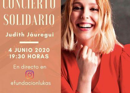 Concierto solidario de Judith Jáuregui