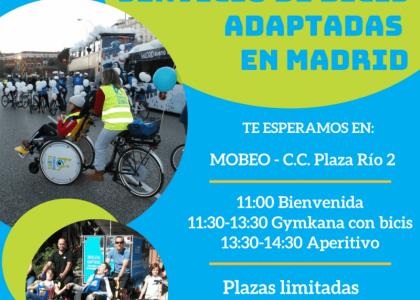 Inauguración Nuevo Servicio de Bicicletas Adaptadas en Madrid
