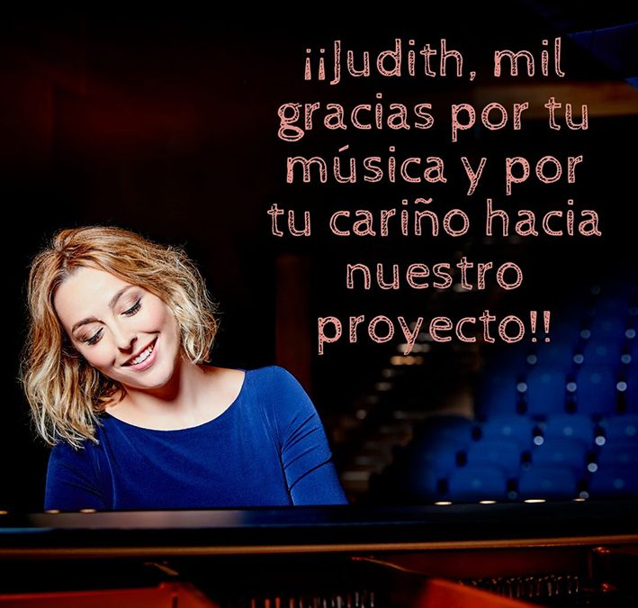 Enjoy the solidarity concert of Judith Jáuregui on Instagram