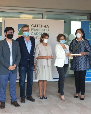 """Recibimos el premio """"Francisco Carreño Entorno Inclusivo 2020"""""""
