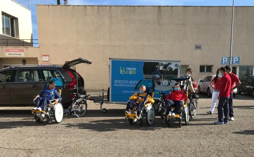 Our adapted bikes in Envera