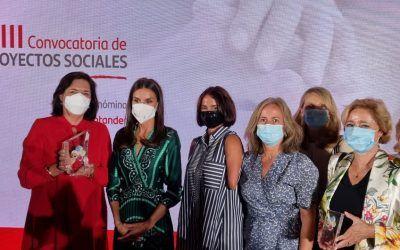 Recibimos el premio 'Euros de tu nómina' del Banco Santander